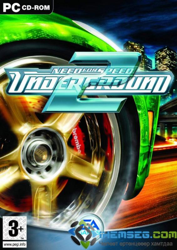 Скачать Need For Speed Underground 2 (RUS) торрент.